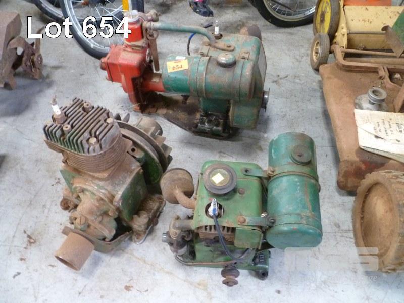 3 x VILLIERS VINTAGE STATIONARY ENGINES - Estate Clearances
