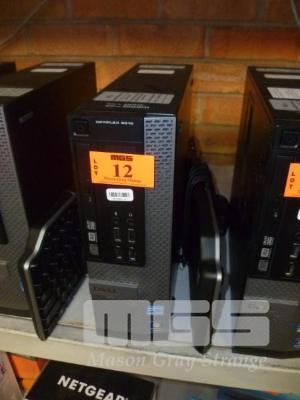 DESKTOP PC, DELL OPTIPLEX 9010 SLIM, CORE i7 3770 (3RD GEN