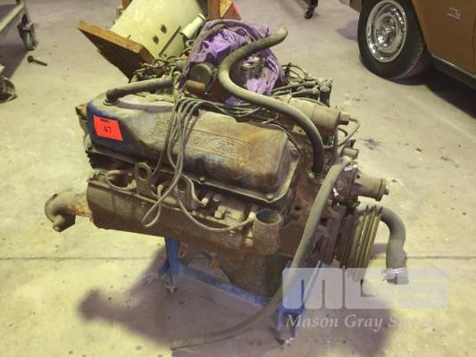 FORD 351 CLEVELAND V8 COMPLETE ENGINE - Rust, Relics & Dreams