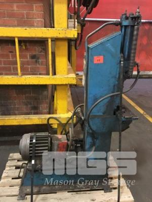 HYDRAULIC PRESS WITH MTR & PUMP, - Automotive Manufacturing